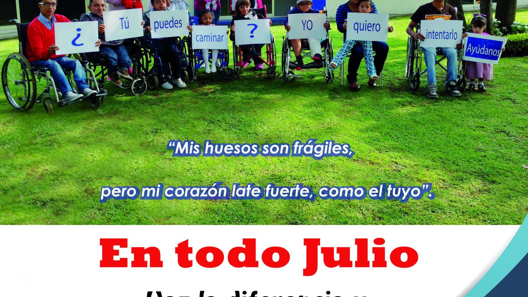 En todo Julio Soriana y City Club apoya Angelitos de Cristal