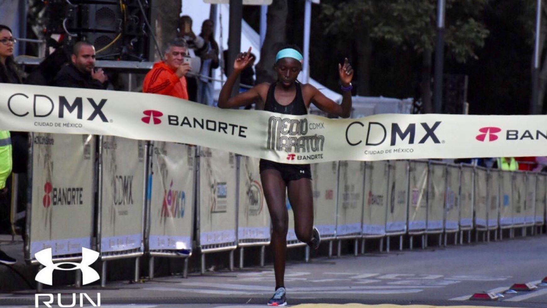 Angelitos de Cristal I.A.P, presente en el Medio Maratón de la CDMX