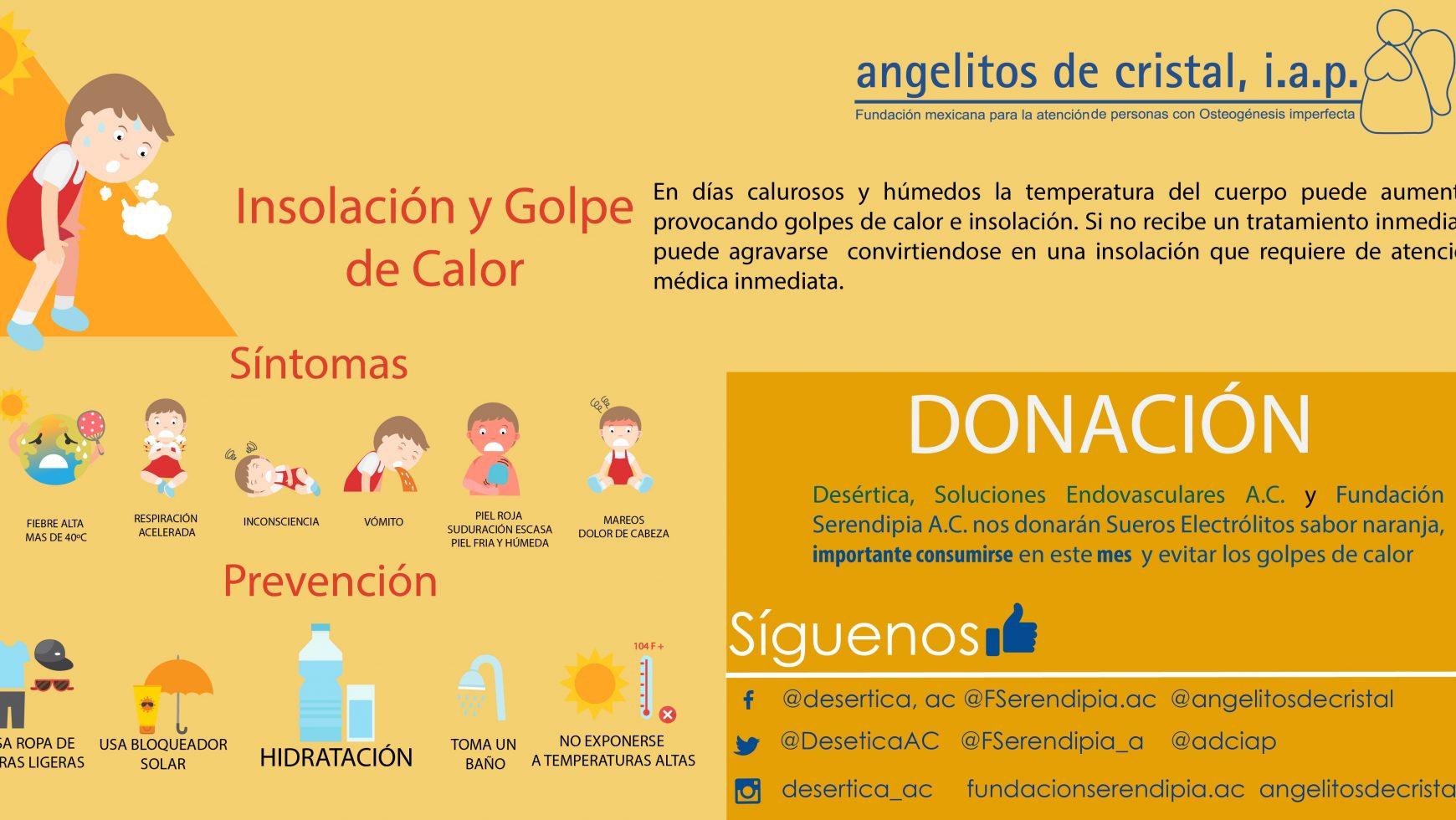 Gracias a Desértica SE A.C. Y Fundación Serendipia A.C.  por sueros para los niños, niñas y adolescentes
